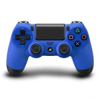 Геймпад Sony Dualshock 4 для PS4 CUH-ZCT1E PS719201595 Blue
