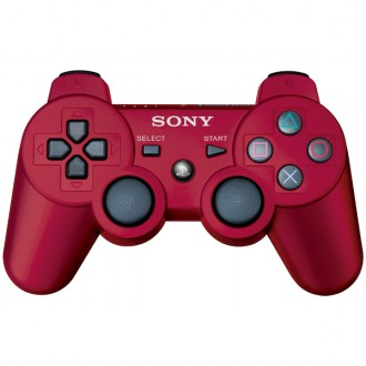 Геймпад Sony Dualshock 3 Red CECHZC2E