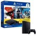 Игровая консоль PlayStation 4 500GB + Horizon:ZeroDawn+GoW 3+UC 4+3мес PS Plus