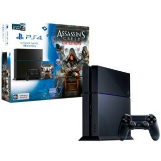 Игровая консоль PlayStation 1Tb+Watch_Dogs+Assassin's Creed Синд.