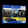 Игровая консоль PlayStation 4 (1ТБ) Черная + Days Gone/God Of War/The Last of Us/PS+3M (CUH-2208B)