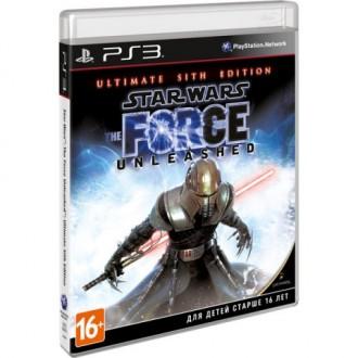 Игра для PS3 Медиа Star Wars The Force Unleashed:Sith Ed. Essentials