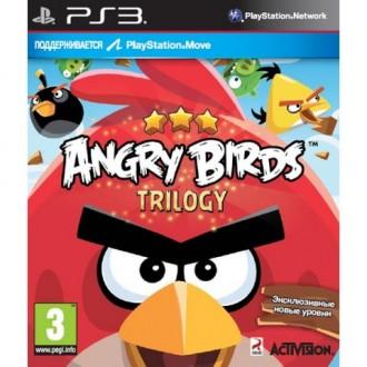 Игра для PS3 Медиа Angry Birds Trilogy