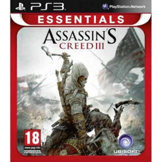 Игра для PS3 Медиа Assassin's Creed 3 Essentials
