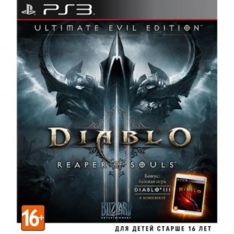 Игра для PS3 Медиа Diablo III:Reaper of Souls. Ultimate Evil Edition