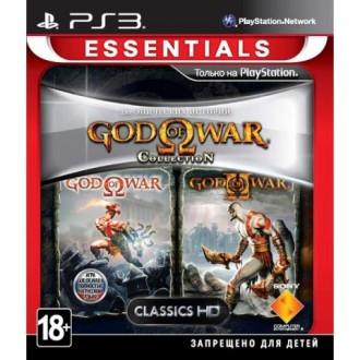 Игра для PS3 Медиа God of War Collection 1