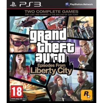 Игра для PS3 Медиа Grand Theft Auto IV: Episodes From Liberty City