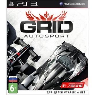 Игра для PS3 Медиа Grid Autosport