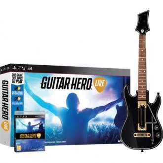 Игра для PS3 Медиа Guitar Hero Live.Гитара + игра