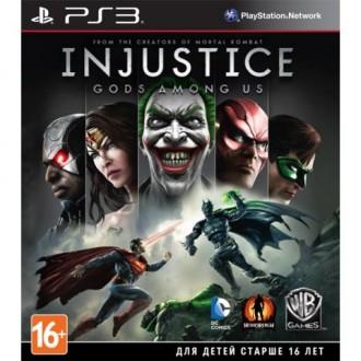 Игра для PS3 Медиа Injustice: Gods Among Us