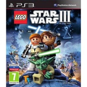 Игра для PS3 Медиа LEGO Star Wars III: the Clone Wars Essentials