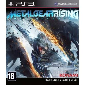 Игра для PS3 Медиа Metal Gear Rising: Revengeance