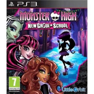 Игра для PS3 Медиа Monster High:New Ghoul in School