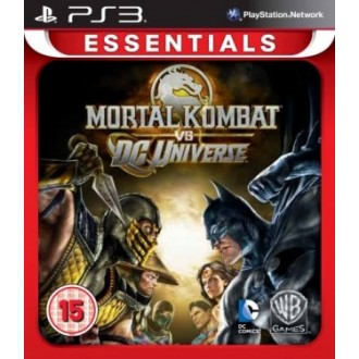 Игра для PS3 Медиа Mortal Kombat Vs. DC Universe
