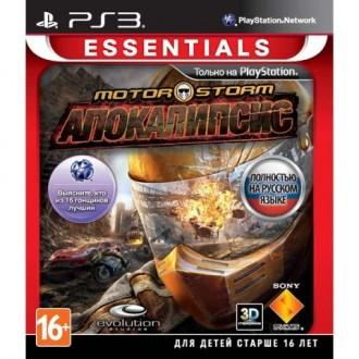 Игра для PS3 Медиа MotorStorm Апокалипсис