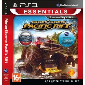 Игра для PS3 Медиа Motorstorm Pacific Rift