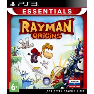 Игра для PS3 Медиа Rayman Origins Essentials
