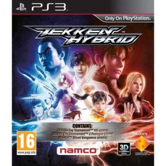 Игра для PS3 Медиа Tekken Hybrid