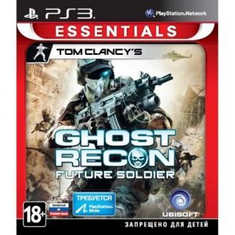 Игра для PS3 Медиа Tom Clancy's Ghost Recon:FutureSoldier Essentials