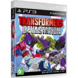 Игра для PS3 Медиа Transformers:Devastation