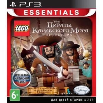 Игра для PS3 Медиа Disney. LEGO Пираты Карибского моря (Essent...