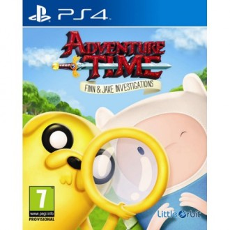 Видеоигра для PS4 Медиа Adventure Time: Finn and Jake Investigations