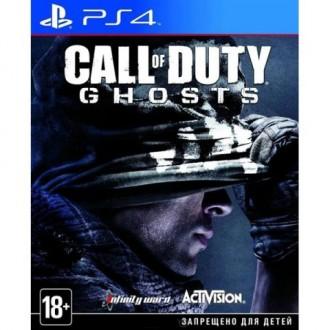 Видеоигра для PS4 Медиа Call Of Duty Ghosts на русском языке