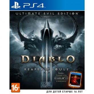 Видеоигра для PS4 Медиа Diablo III:Reaper of Souls. Ultimate Evil Edition