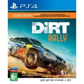 Видеоигра для PS4 Медиа Dirt Rally Legend Edition