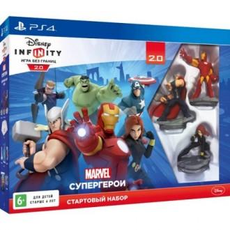 Видеоигра для PS4 Медиа Disney. Infinity 2.0. Стартовый набор