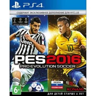 Видеоигра для PS4 Медиа Pro Evolution Soccer 2016