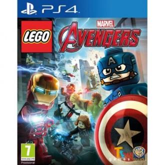 Видеоигра для PS4 Медиа LEGO: Marvel Мстители