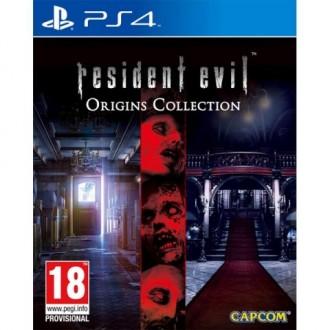Видеоигра для PS4 Медиа Resident Evil Origins Collection