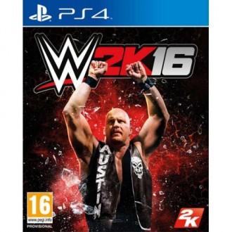 Видеоигра для PS4 Медиа WWE 2K16