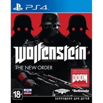 Видеоигра для PS4 Медиа Wolfenstein:The New Order
