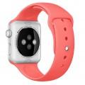 Cпортивный ремешок Apple Pink Sport Band для Apple Watch 38mm розовый MJ4K2ZM/A