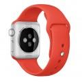 Cпортивный ремешок Apple Orange Sport Band для Apple Watch 42mm оранжевый MLDK2ZM/A