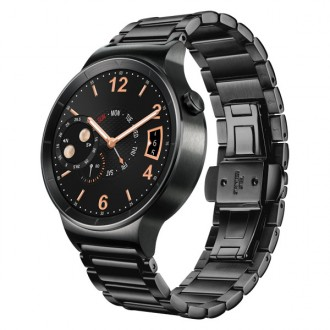 Смарт-часы Huawei Watch Stainless Steel Link Bracelet Black