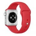 Cпортивный ремешок Apple (PRODUCT)RED Sport Band для Apple Watch 42mm красный MLDJ2ZM/A
