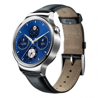 Смарт-часы Huawei Watch Genuine Leather Strap  Black