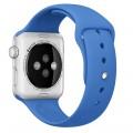 Спортивный ремешок Apple Royal Blue Sport Band для Apple Watch 42mm голубой MM972ZM/A