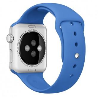 Ремешок для Apple Watch, Sport Band 42mm MM972ZM/A Royal Blue