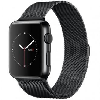 Смарт-часы Apple Watch 38mm with Milanese Loop MMFK2RU/A Steel Gray
