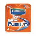 Кассеты для бритья Gillette Fusion, 4 шт