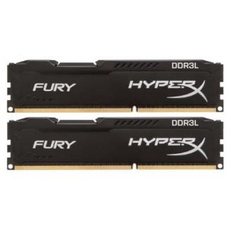 Модуль памяти HyperX HX316LC10FBK2/8 2x4Gb DDR3L