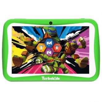 Планшетный компьютер  TurboKids Черепашки-ниндзя Green