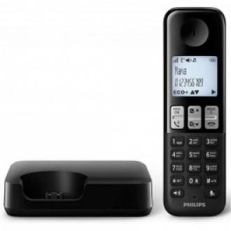 Радиотелефон Philips D 2301 Black