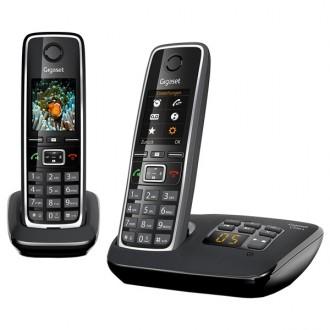 Радиотелефон DECT Gigaset C530A Duo Black