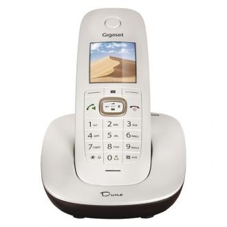 Радиотелефон DECT Gigaset CL540 White