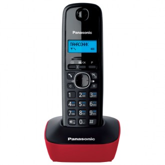 Радиотелефон Panasonic KX-TG1611  Red
